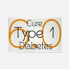 Cure Type 1 Diabetes 6.0 Magnets