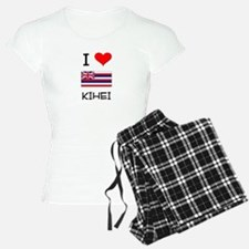 I Love KIHEI Hawaii Pajamas