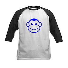Blue Monkey Face Baseball Jersey