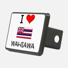 I Love WAHIAWA Hawaii Hitch Cover