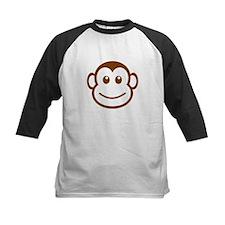 Brown Monkey Face Baseball Jersey