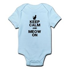 Keep Calm Meow On Body Suit