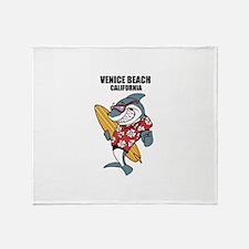 Venice Beach, California Throw Blanket