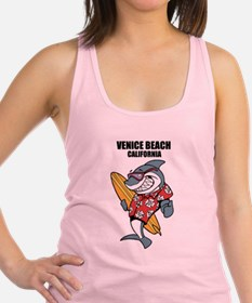 Venice Beach, California Racerback Tank Top