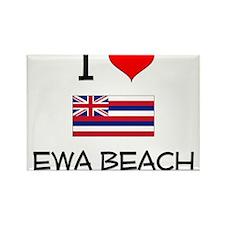 I Love EWA BEACH Hawaii Magnets