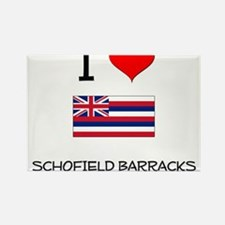 I Love SCHOFIELD BARRACKS Hawaii Magnets