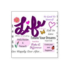 Life Lessons Sticker