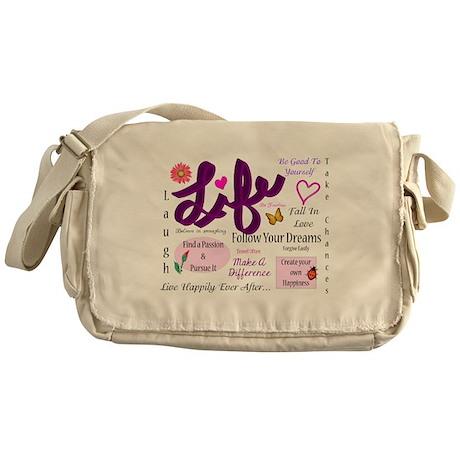 Life Lessons Messenger Bag
