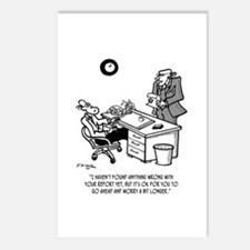 Worry a Bit Longer Postcards (Package of 8)