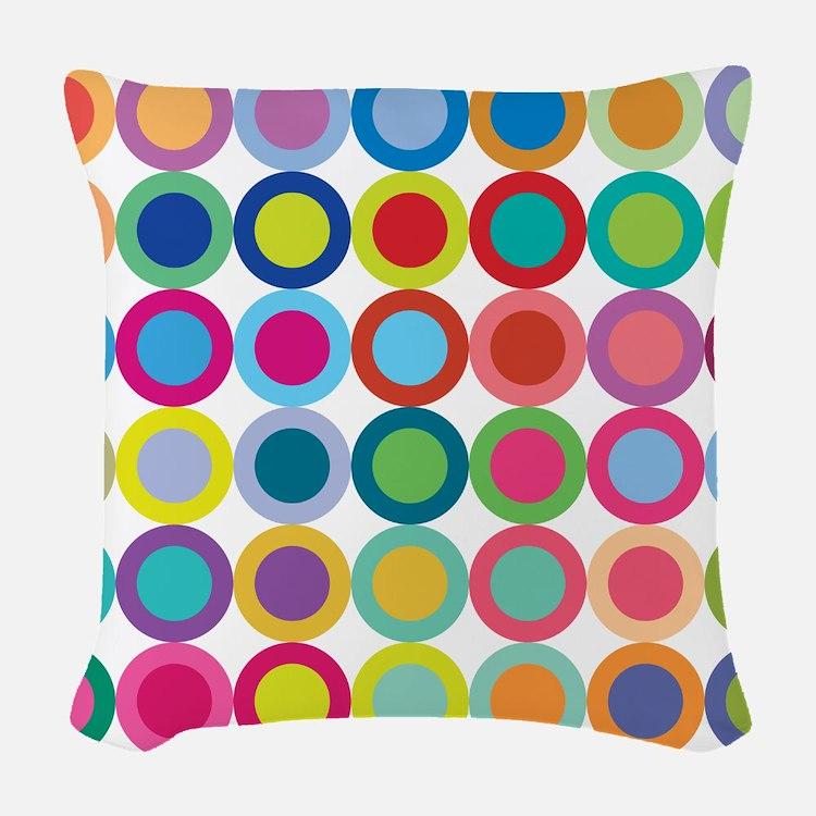 Colour Mix, Woven Throw Pillow