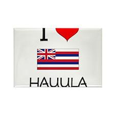 I Love HAUULA Hawaii Magnets