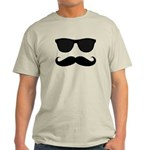 Black Mustache and Sunglasses T-Shirt