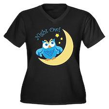 Blue Owl Plus Size T-Shirt