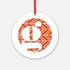 Chevron Ornament (Round)