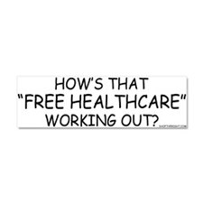 Free Healthcare Car Magnet 10 x 3