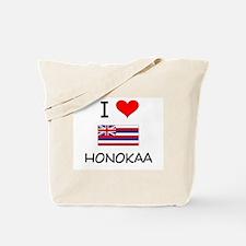 I Love HONOKAA Hawaii Tote Bag