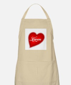 I love Karen products BBQ Apron