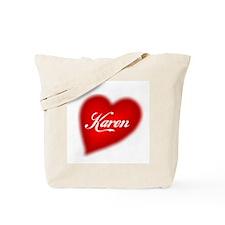 I love Karen products Tote Bag