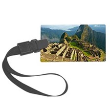 Machu Picchu Large Luggage Tag