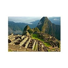 Machu Picchu Rectangle Magnet