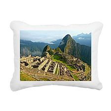 Machu Picchu Rectangular Canvas Pillow