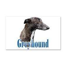 Greyhound Name Car Magnet 20 x 12