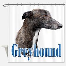Greyhound Name Shower Curtain