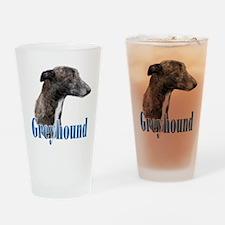 Greyhound Name Drinking Glass