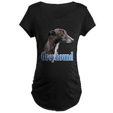 Greyhound Name Maternity T-Shirt