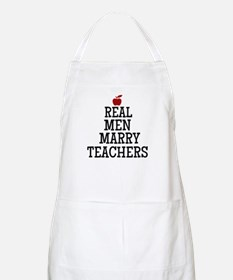 Real Men Marry Teachers Apron