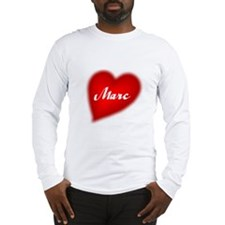 I love Marc products Long Sleeve T-Shirt