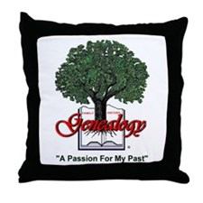 A Passion For My Past Throw Pillow