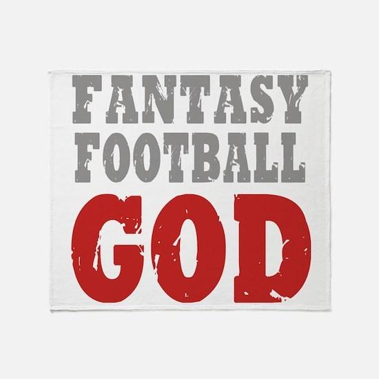 Fant Football GOD Throw Blanket