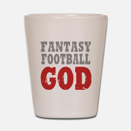 Fant Football GOD Shot Glass
