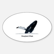 Humpback Whale (breaching) Decal