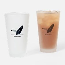 Humpback Whale (breaching) Drinking Glass