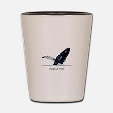 Humpback Whale (breaching) Shot Glass