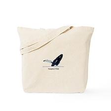 Humpback Whale (breaching) Tote Bag