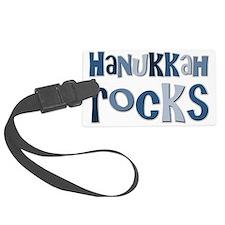 Hanukkah Rocks Luggage Tag