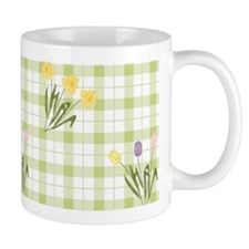 Tulips and Daffodils Small Mug