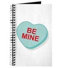 Be Mine Candy Heart Journal