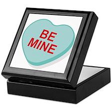 Be Mine Candy Heart Keepsake Box