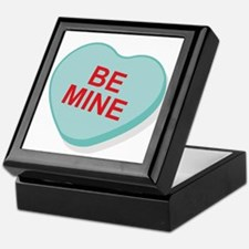 Be Mine Candy Heart Keepsake Box