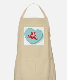 Be Mine Candy Heart BBQ Apron