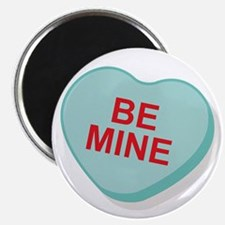 Be Mine Candy Heart Magnet