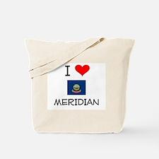 I Love MERIDIAN Idaho Tote Bag