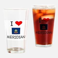 I Love MERIDIAN Idaho Drinking Glass