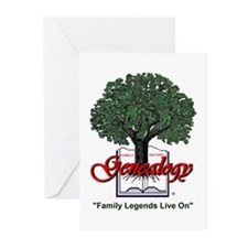 Family Legends Live On Greeting Cards (Pk of 10)