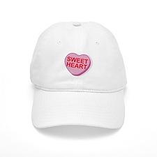 Sweet Heart Candy Heart Baseball Cap