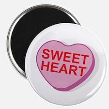 Sweet Heart Candy Heart Magnet